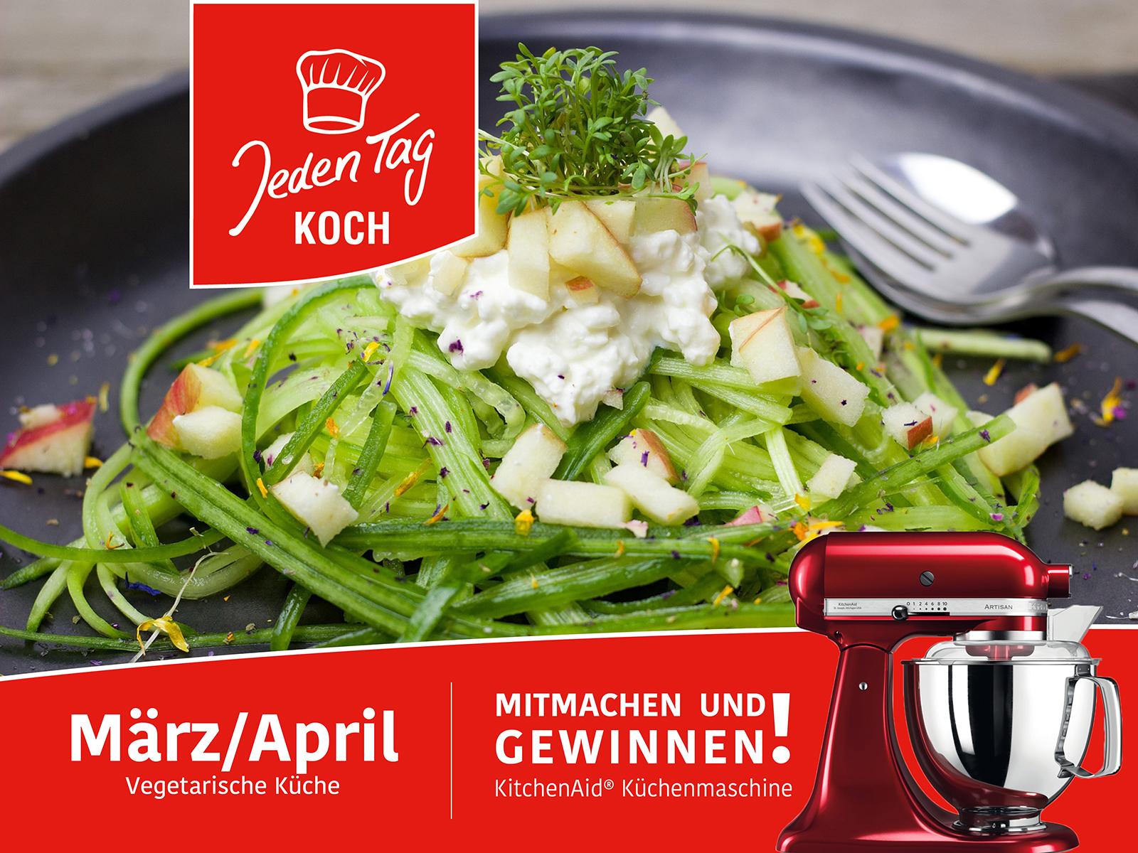 Jeden Tag Koch Gewinnspiel – März/April