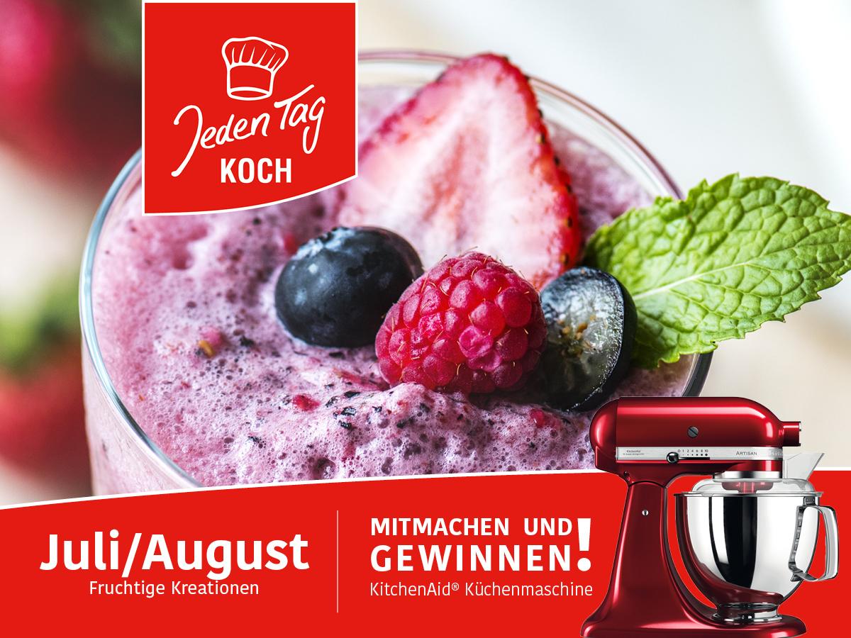 Jeden Tag Koch Gewinnspiel – Juli/August
