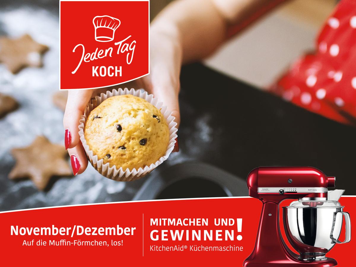 Jeden Tag Koch Gewinnspiel November/Dezember