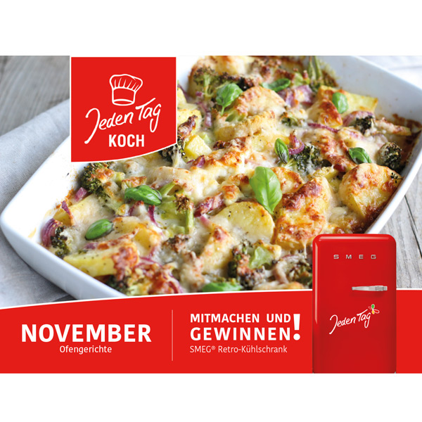 Jeden Tag Koch November