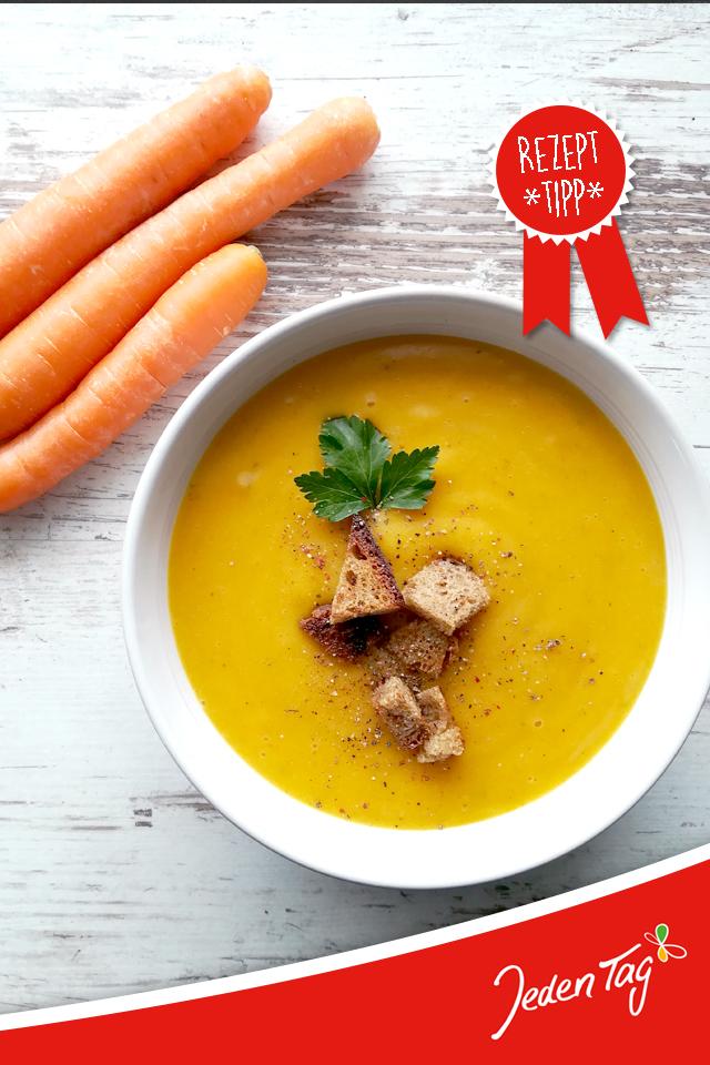 Rezept Karotten-Kartoffel-Curry-Suppe