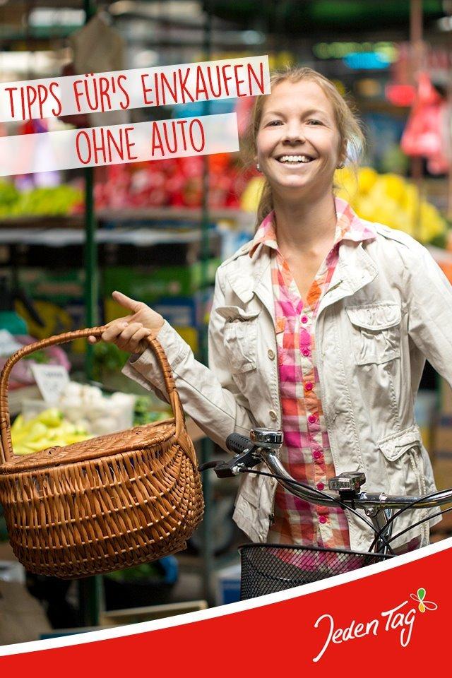 Einkaufen ohne Auto