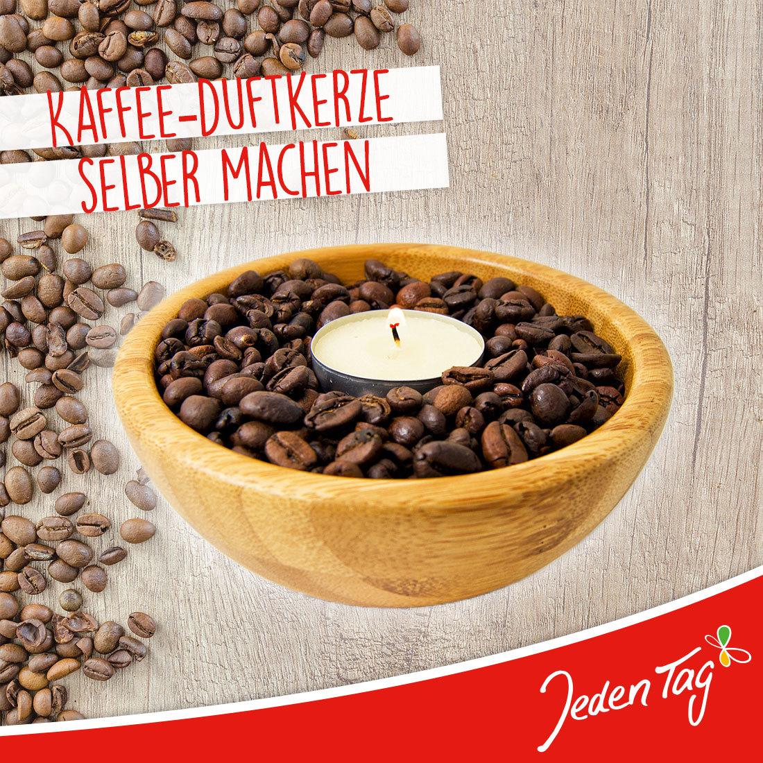 Kaffee Duftkerze