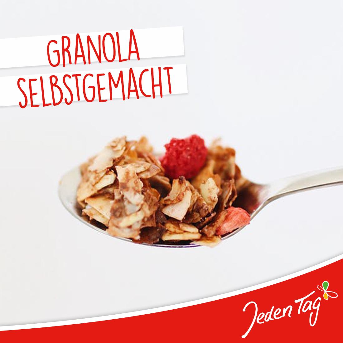 Jeden Tag Rezept-Tipp: Granola