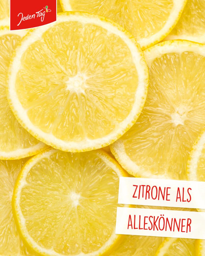 Jeden Tag Küchen-Hack: Zitronen