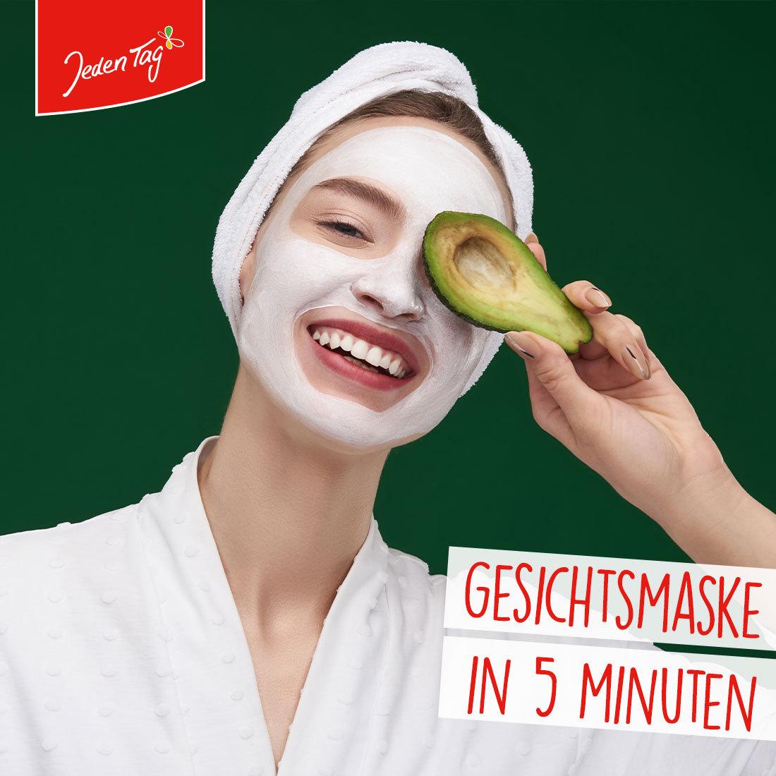 Jeden Tag DIY-Tipp: Gesichtsmasken in 5 Minuten