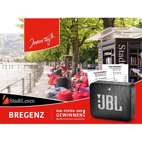 Jeden Tag StadtLEsen Gewinnspiel Bregenz