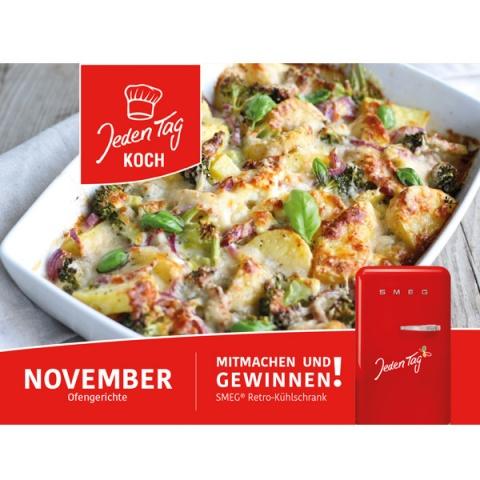 Jeden Tag Koch November