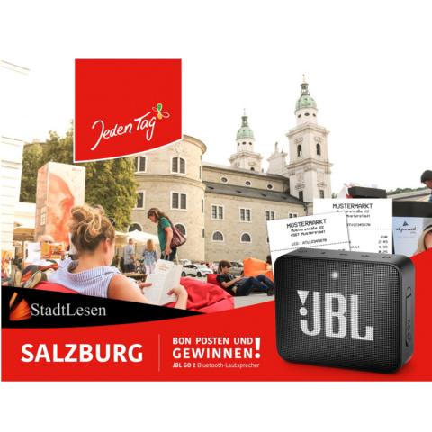Jeden Tag StadtLEsen Gewinnspiel Salzburg