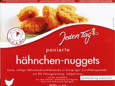 Jeden Tag hähnchen-nuggets Test