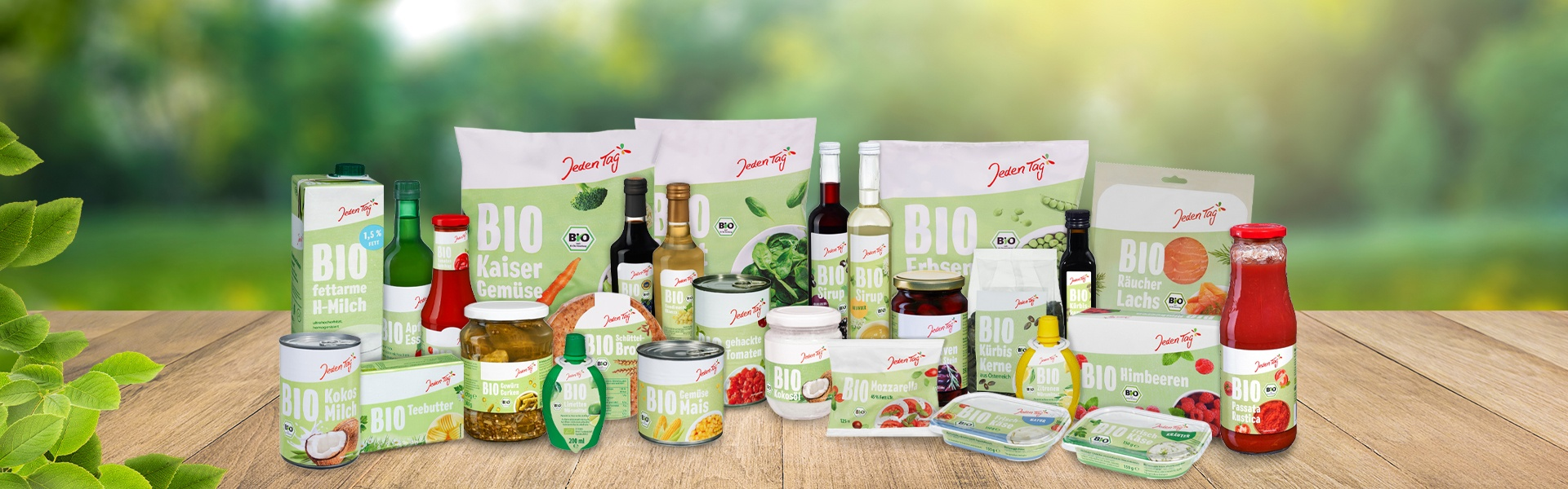 Jeden Tag Bio Produkte