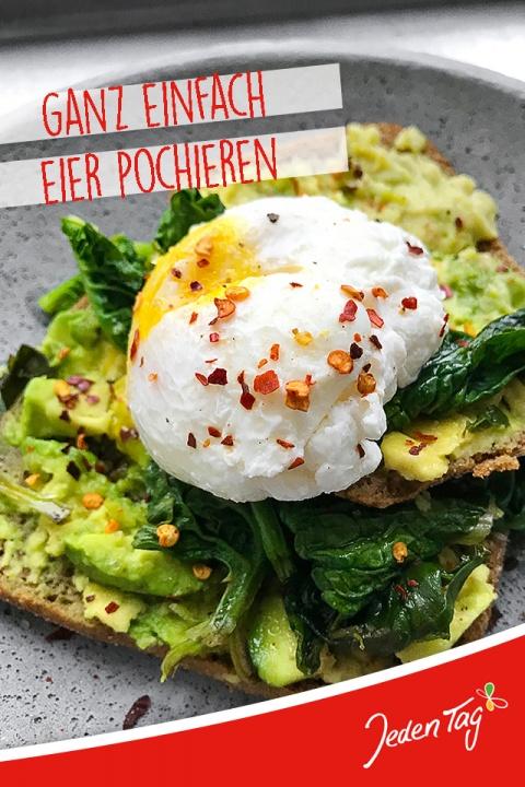 Jeden Tag Küchentrick: Eier pochieren